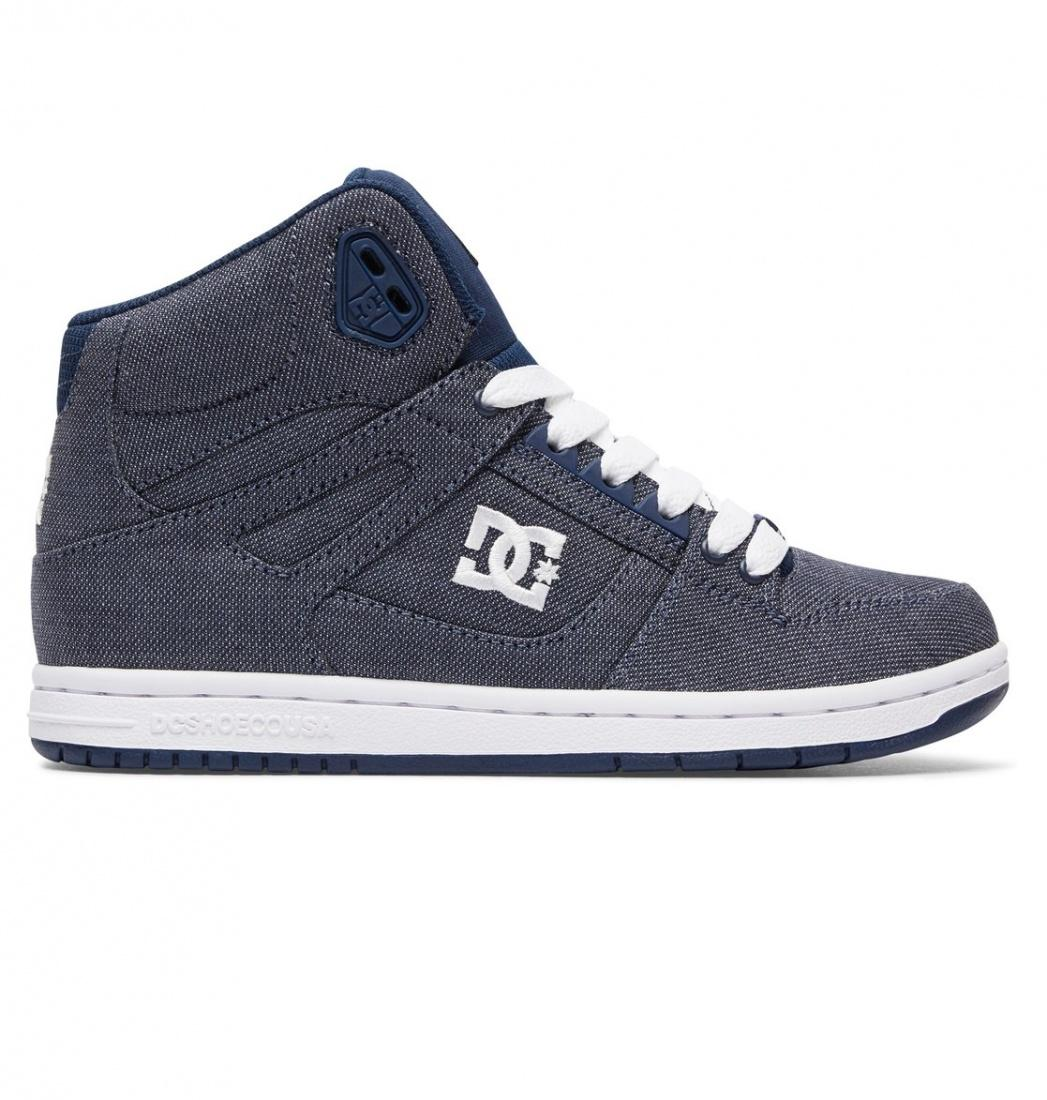 DC SHOES Кеды DC shoes Rebound High TX SE CHAMBRAY, , FW17 US 8 кеды кроссовки высокие детские dc rebound se black blue
