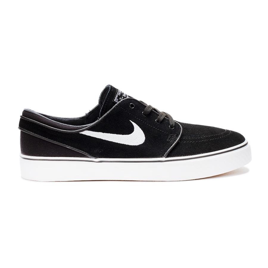 Nike SB Кеды детские   Stefan Janoski (GS) BLACK/WHITE-GUM MED BROWN US 3.5
