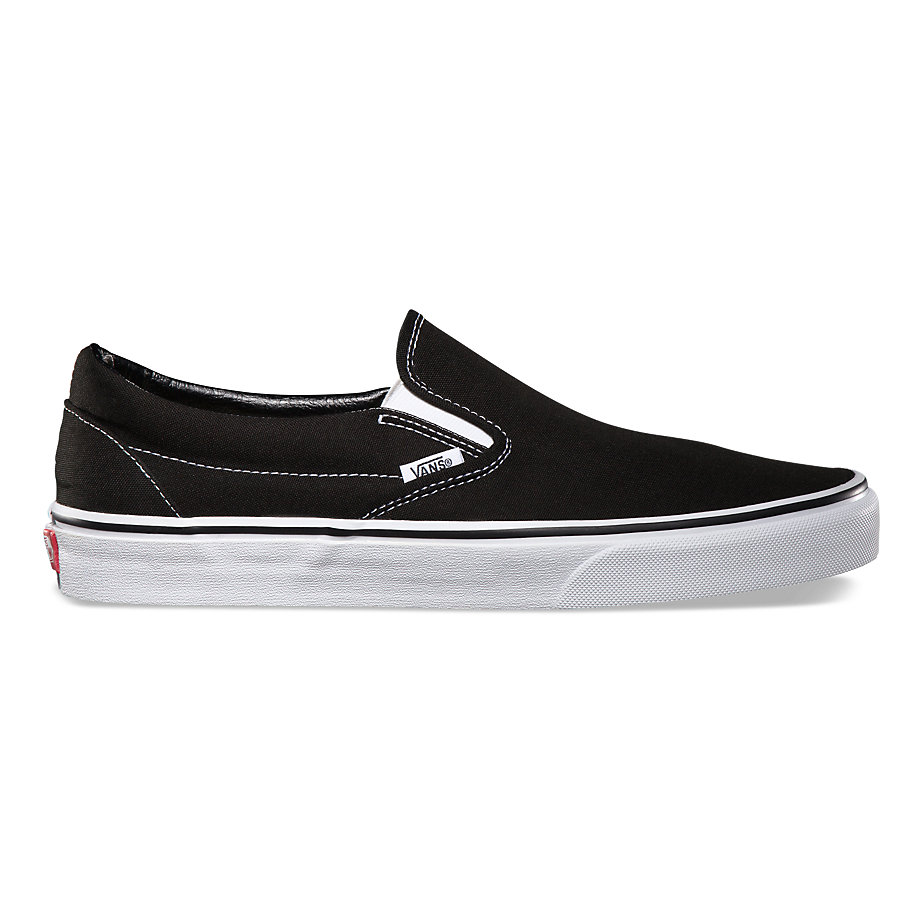 Кеды Vans Vans Classic Slip-On Black 10.5 от Boardshop-1