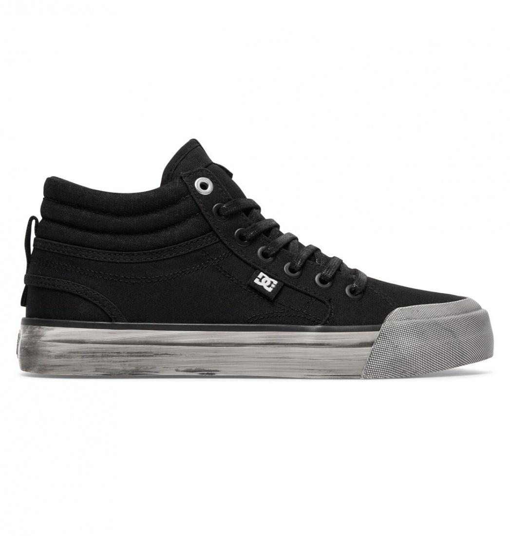 DC SHOES Кеды DC shoes Evan Hi TX SE BLACK ACID 7 dc shoes кеды dc evansmith hi tx m shoe bl0 мужские black 11