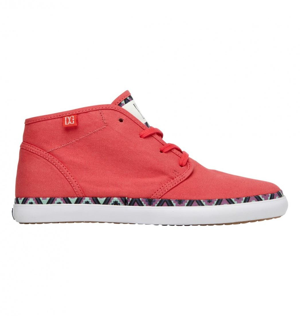 DC SHOES Кеды DC shoes Studio MID LTZ RED/GREEN/BLUE US 7.5 dc shoes зимние кеды dc shoes evan smith wnt wheat fw17 us 9