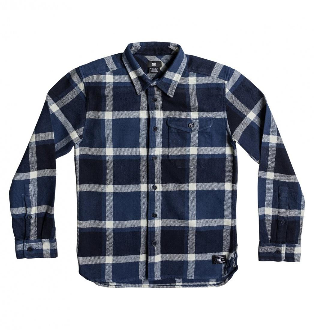 DC SHOES Рубашка DC shoes Marsha Flannel WASHED INDIGO, , FW17 L