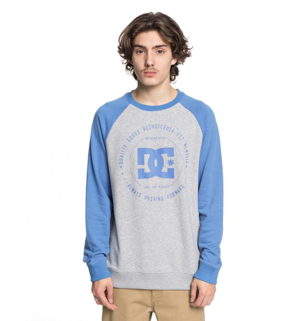 DC SHOES Свитшот   Rebuilt CAMPANULA/GREY HEATHER XL