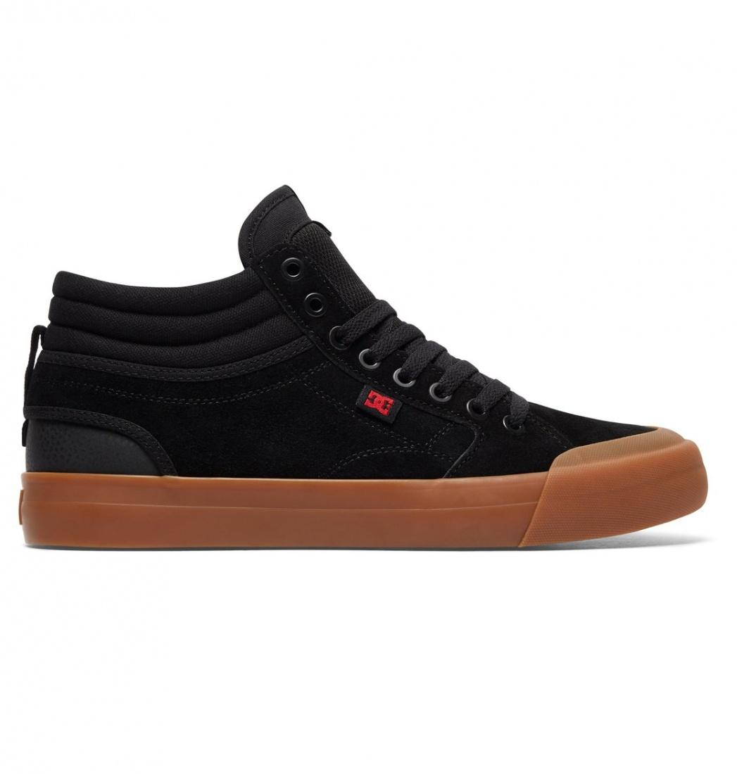 DC SHOES Кеды DC shoes Evan Smith Hi S BLACK/GUM, , FW17 10 dc shoes шорты классические dc evan short wkst pirate black