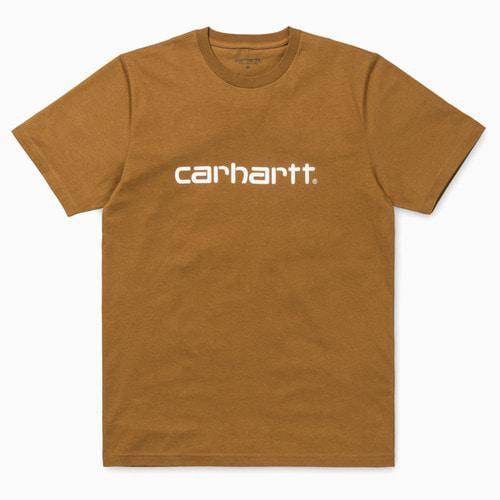 Carhartt Футболка Carhartt WIP Hamilton Brown/ White XL ланч бокс rosenberg rsi 230006