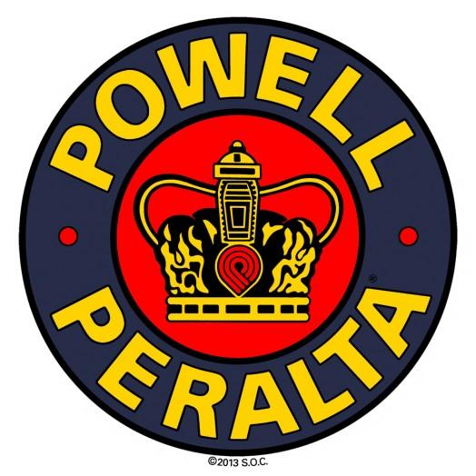 Наклейка Powell Peralta SUPREME