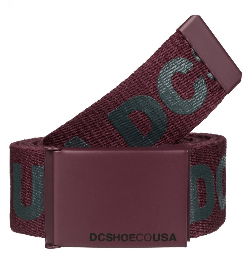 DC SHOES РЕМЕНЬ DC CHINOOK 6 M BLTS RSR0 МУЖ WINDSOR WINE