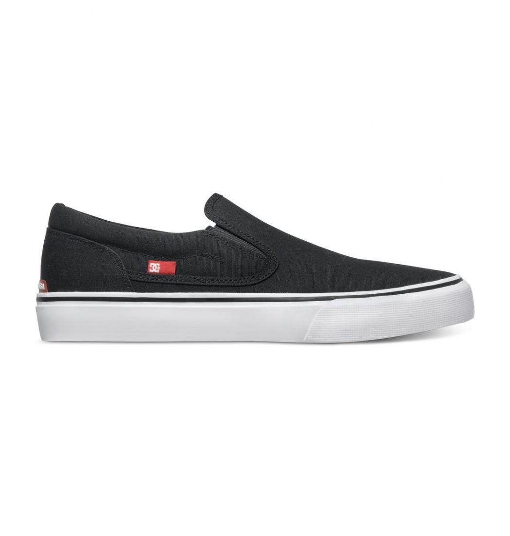 ПОЛУКЕДЫ DC TRASE SLIP-ON T M SHOE BKW МУЖСКИЕ