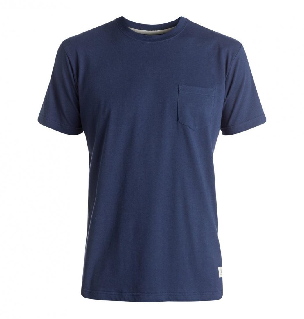 DC SHOES ФУТБОЛКА DC BASIC POCKET M KTTP BRA0 МУЖСКАЯ SUMMER BLUES M stabila pocket basic 17773