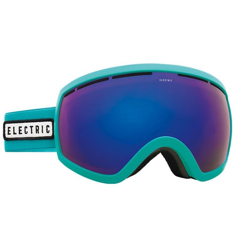 Маска для сноубордов Electric Electric EG2.5 TURQUOISE BROSE BLUE CHROME от Boardshop-1