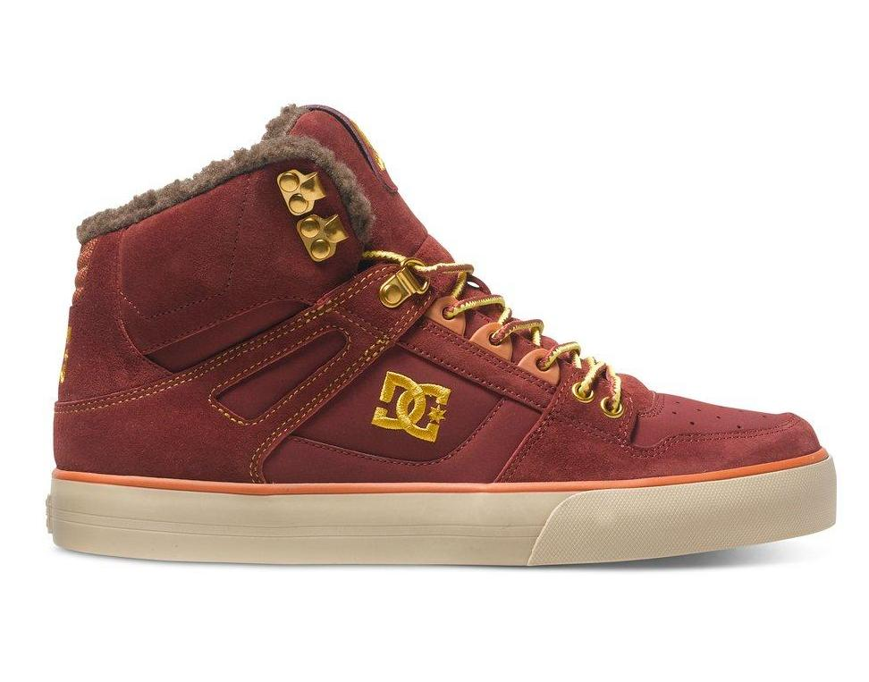 DC SHOES Ботинки DC shoes Spartan High WC BROWN/WHEAT 8 кеды кроссовки высокие dc spartan high wc black tan
