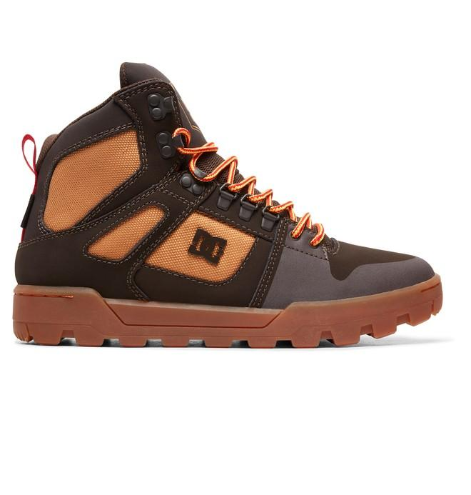 DC SHOES Зимние ботинки DC shoes Pure WNT CHOCOLATE BROWN US 12 ботинки dc shoes dc shoes dc329amvnu59
