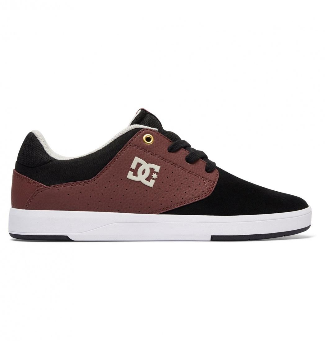 DC SHOES Кеды DC shoes Plaza TC S BLACK/OXBLOOD, , US 8.5 dc shoes полуботнки dc new jack s m shoe bg3 мужские black gold 9