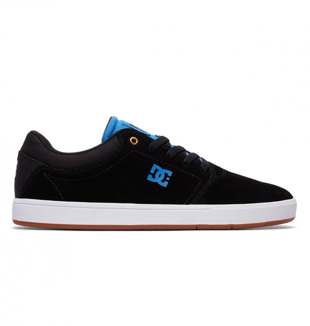 DC SHOES Кеды DC shoes Crisis BLACK/BLACK/BLUE US 7.5 dc shoes зимние кеды dc shoes evan smith wnt wheat fw17 us 9