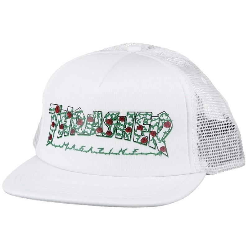 THRASHER Бейсболка Thrasher Rose Mesh Hat WHITE One size насос ручной intex 68612