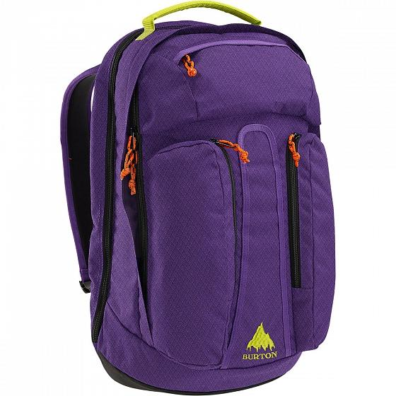 Burton Рюкзак Burton Curbshark Pack GRAPE CRUSH DMND RIP 26 л burton рюкзак bravo pack gry hthr dimnd rpstp fw17