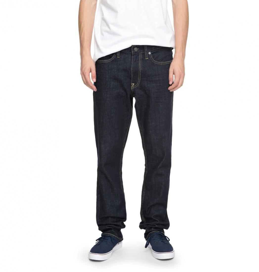 DC SHOES Джинсы DC shoes Worker Straight INDIGO RINSE 36 цена и фото