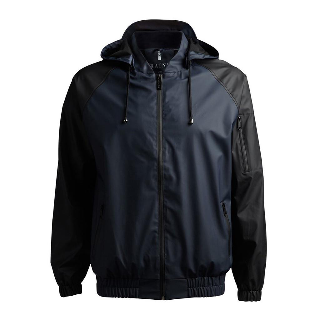Куртка RAINS Rains Bomber Black Blue M L от Boardshop-1
