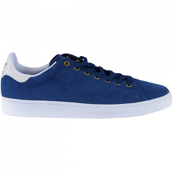 Adidas Кеды Adidas Stan Smith Vulc Mystery Blue/Footwear White/Matte Gold UK 12