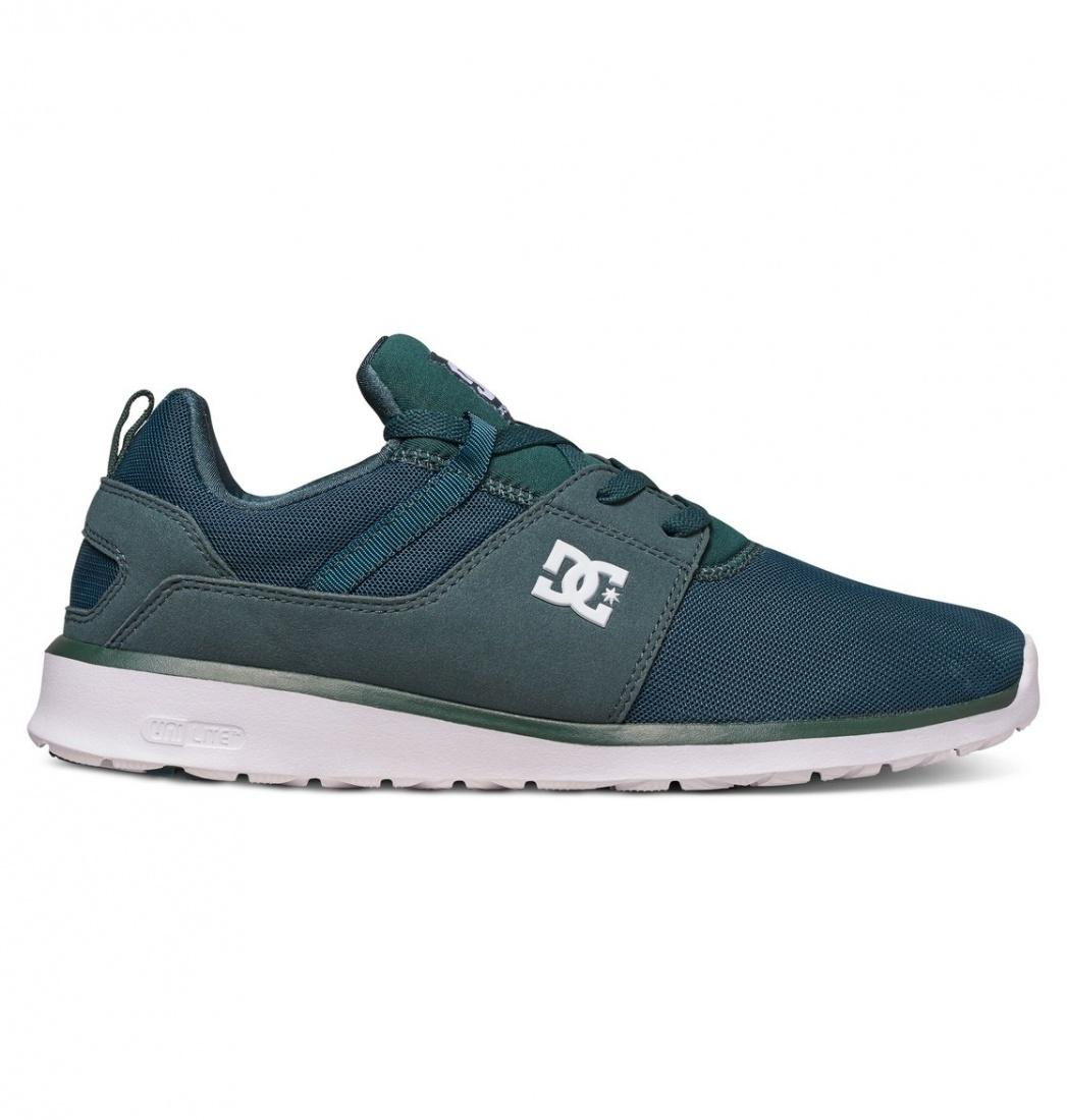 DC SHOES Кроссовки DC shoes Heathrow DARK GREEN 9 кроссовки детские dc heathrow se green grey white