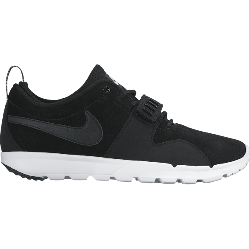 Nike SB Кеды TRAINERENDOR LEATHER (9, Black/White, , SP16)