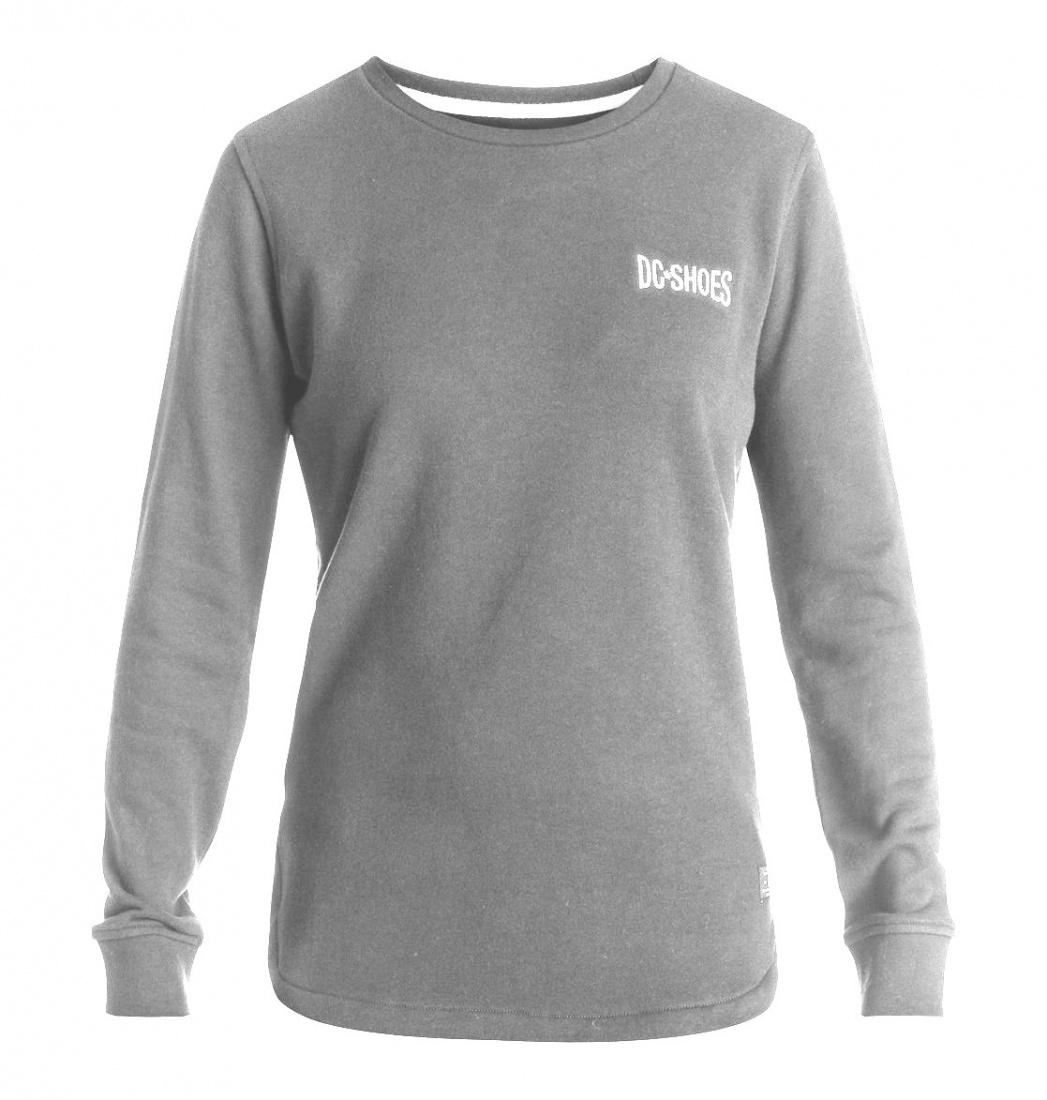 DC SHOES ДЖЕМПЕР DC LOWREY FIELD J OTLR KNFH ЖЕНСКИЙ GREY HEATHER S рубашка в клетку dc woodale deep dyed heather grey