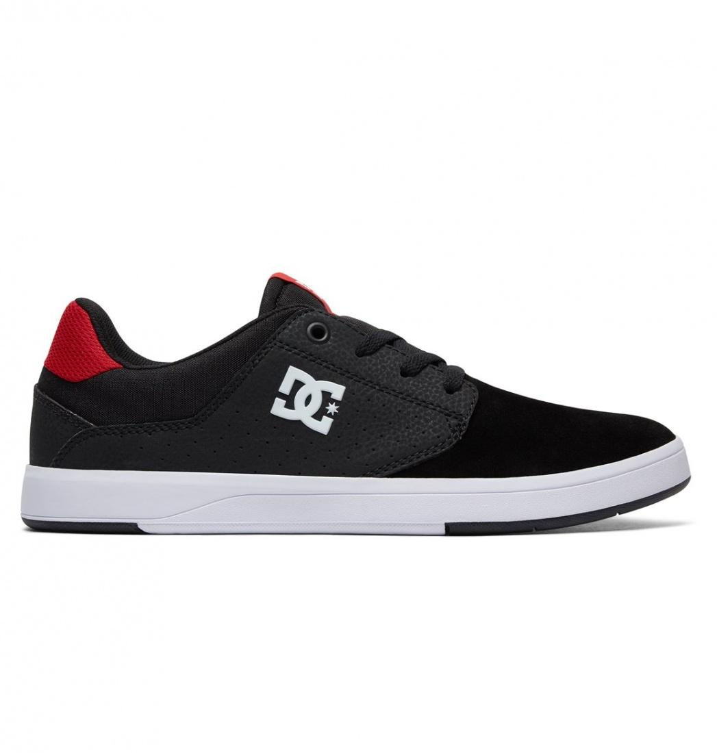 DC SHOES Кеды DC shoes Plaza TC S BLACK/ATHLETIC RED US 9 dc shoes полуботнки dc new jack s m shoe bg3 мужские black gold 9