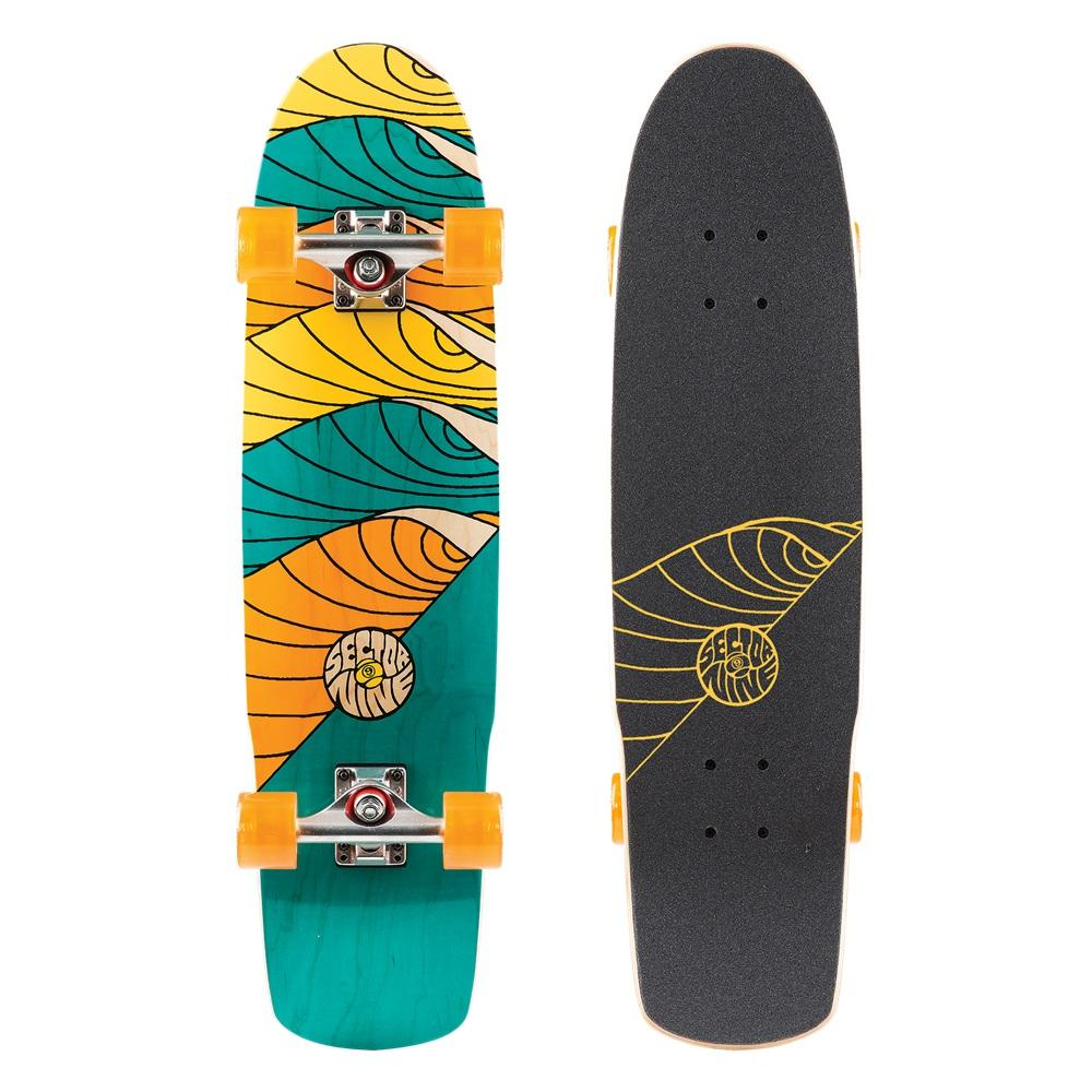 Sector9 Лонгборд в сборе Sector9 Cyclone Assorted