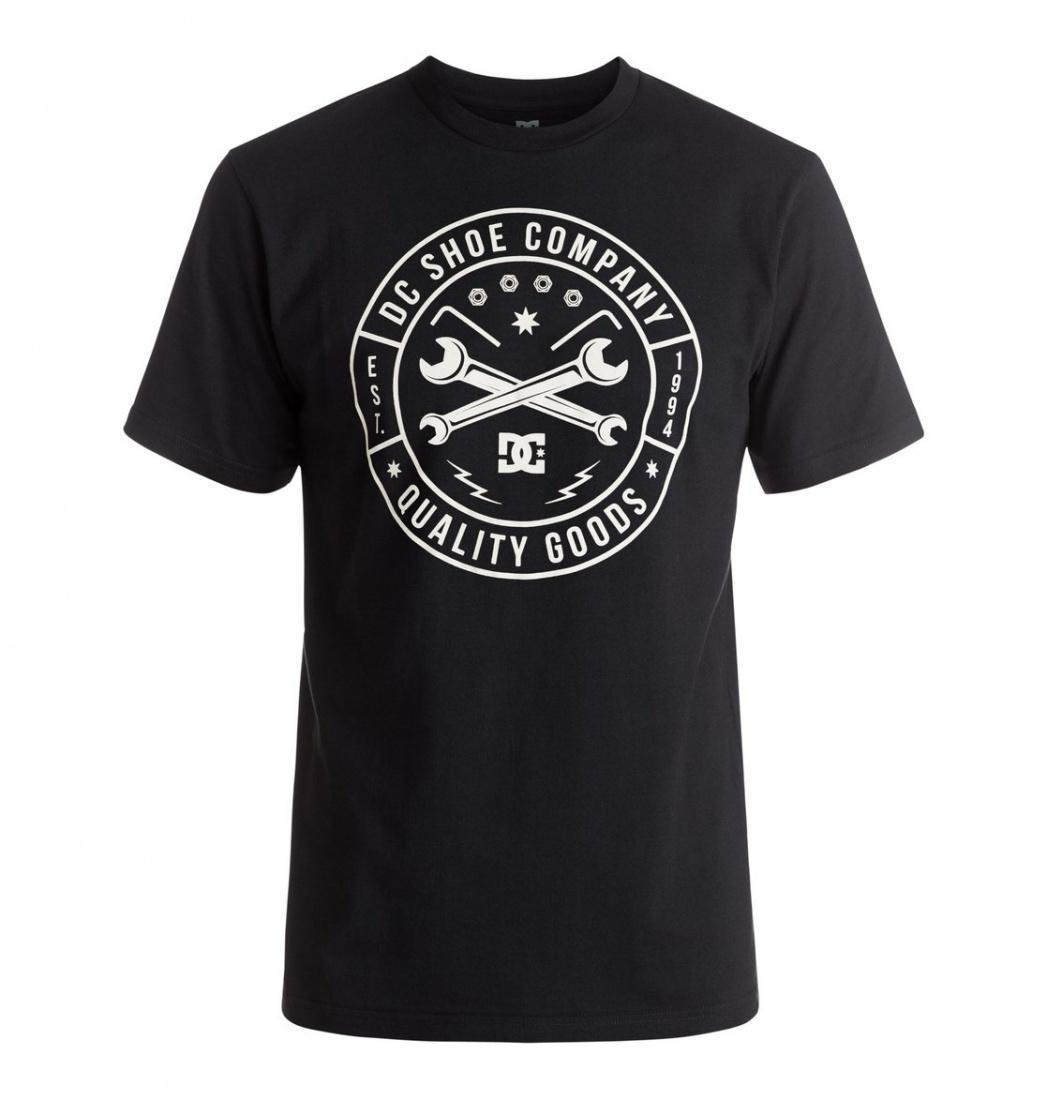 все цены на  DC SHOES ФУТБОЛКА DC EQUIPMENT SS M TEES KVJ0 МУЖСКАЯ BLACK S  в интернете