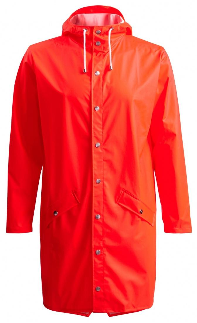 Куртка RAINS Rains Long Jacket Orange L XL от Boardshop-1