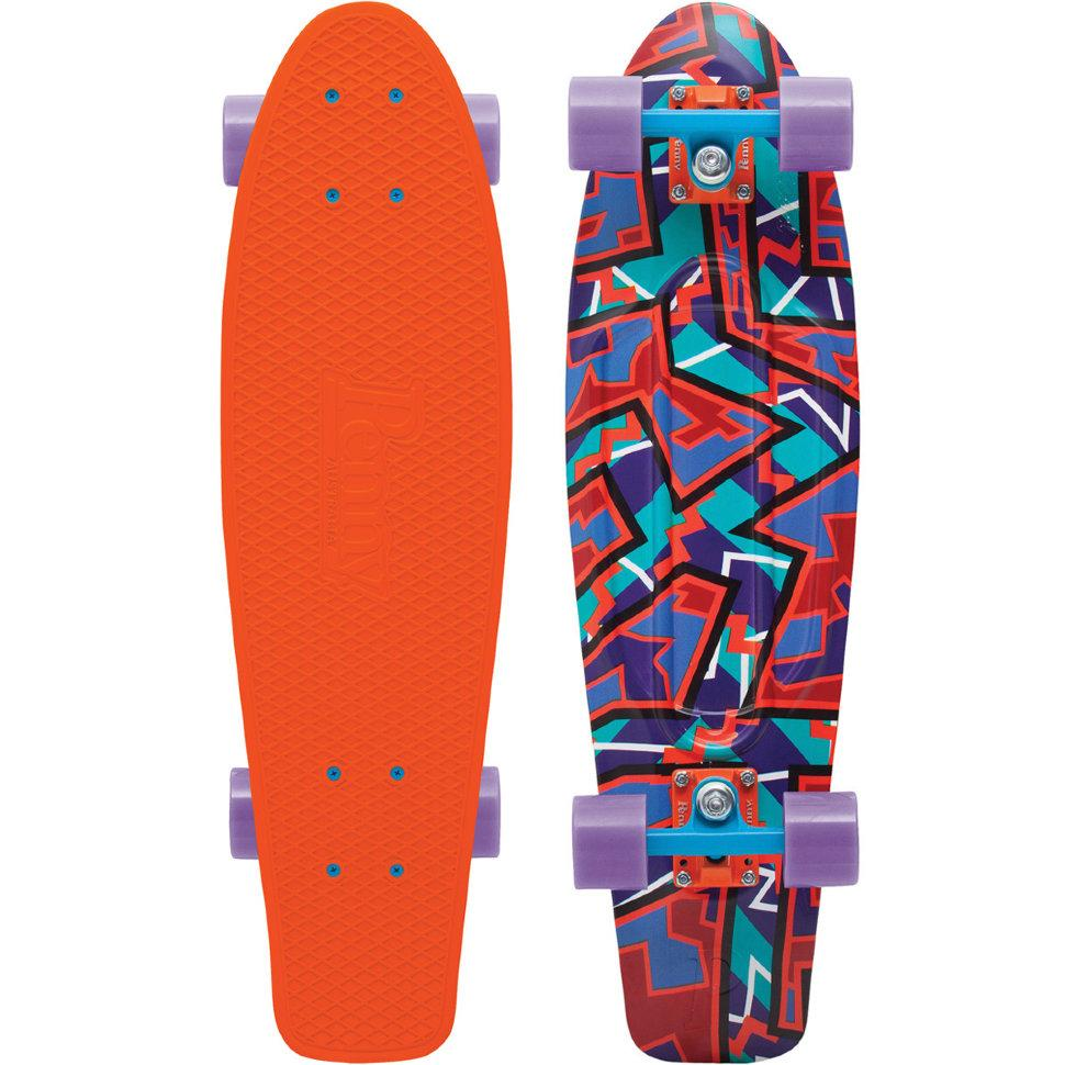 Penny Круизер Penny Nickel LTD SPIKE ORANGE 27 penny подшипники penny abec7 bearings tin