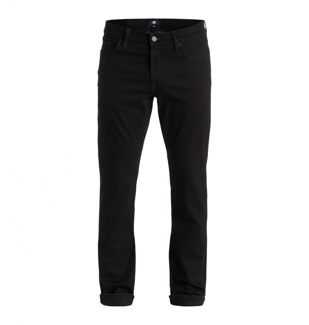 DC SHOES ДЖИНСЫ DC WORKER SLIM JEA M PANT KVDW МУЖСКИЕ BLACK BLACK RINSE 32 джинсы узкие dc washed slim jea pant light stone