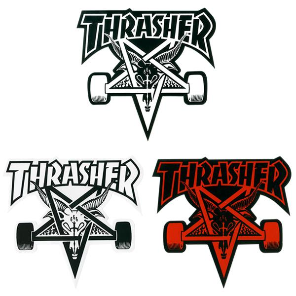 THRASHER Наклейка Thrasher Skate Goat Board One size thrasher наклейка thrasher skate and destroy m