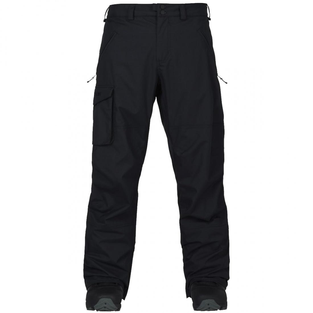 Burton Штаны для сноуборда Burton Insulated Covert Pant TRUE BLACK S burton термобелье burton midweight base layer pant true black fw18 xl