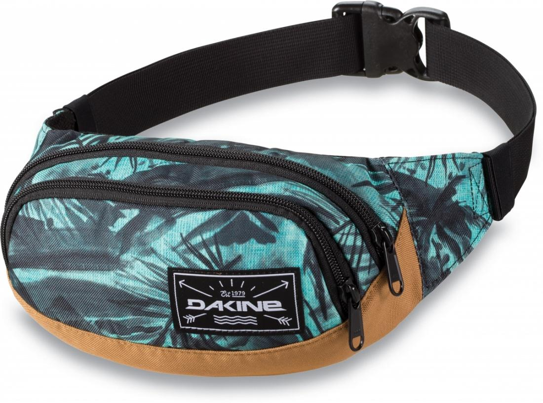 DAKINE Сумка поясная Dakine Hip Pack PAINTED PALM сумка поясная dakine cannery row 10l mako mak