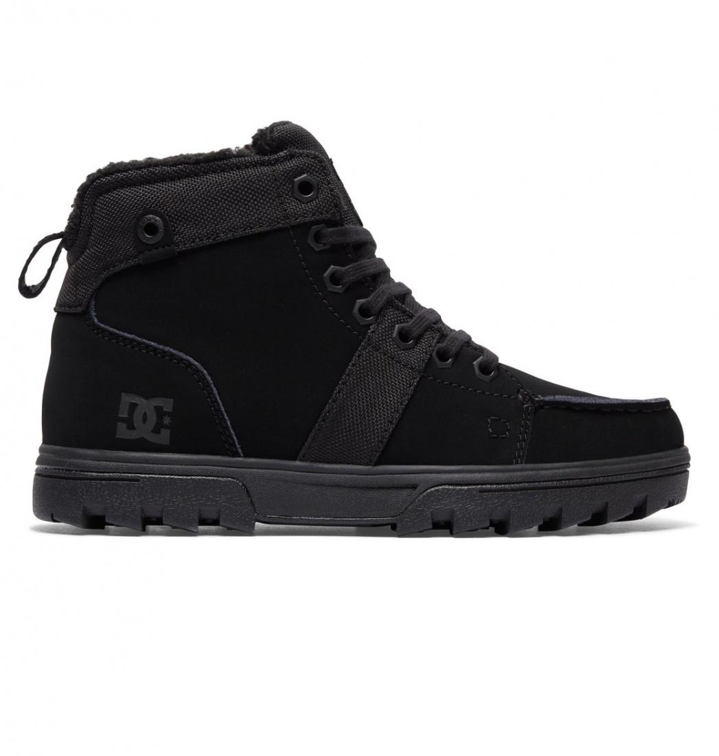 DC SHOES Зимние ботинки DC shoes Woodland BLACK/BLACK/BLACK, , FW17 6 dc shoes кеды dc heathrow se 11