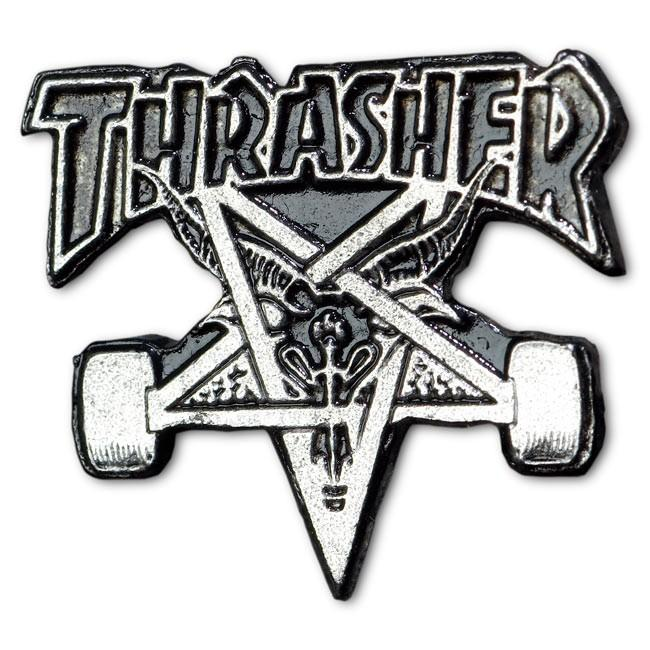 Значок Thrasher Skate Goat Lapel от Board Shop №1