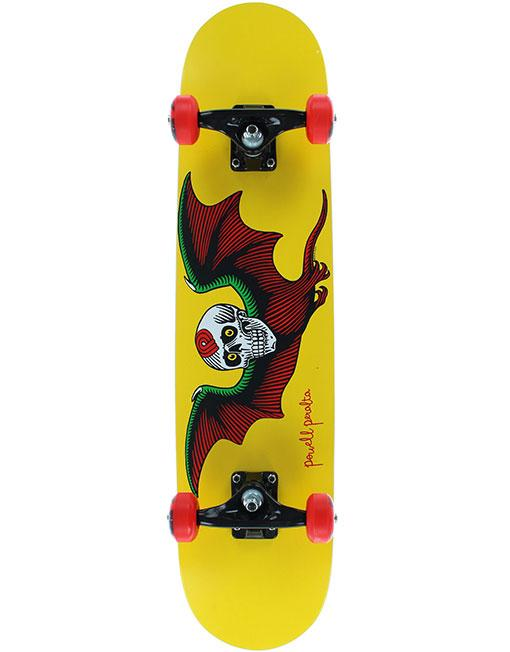 Powell Peralta Скейтборд в сборе Powell Peralta Batt Skull Yellow 7.75 powell peralta скейтборд в сборе powell peralta micro mini ripper 05 camo 7 5