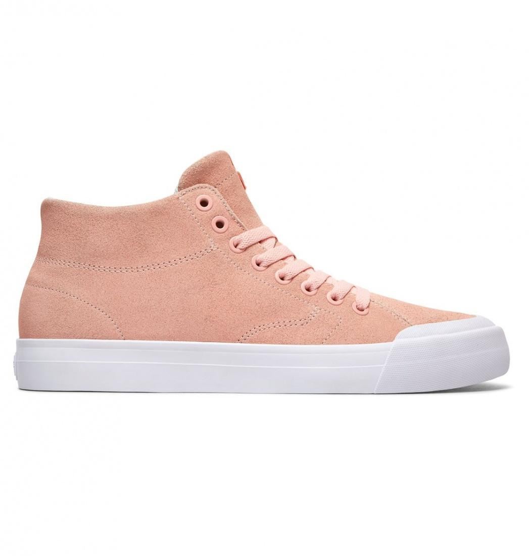 DC SHOES Кеды DC shoes Evan Smith Hi Zero LIGHT PINK US 8 кеды кроссовки высокие женские dc rebound hi chambray page 6