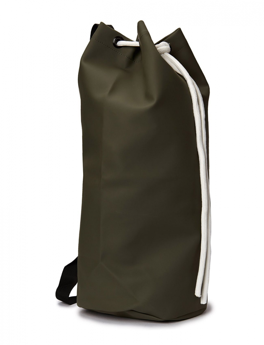 Rains Рюкзак Rains 1204 Sack Green One size pm company expandable dark green transit sack 18w x 4d x 14h 04647 dmi ea