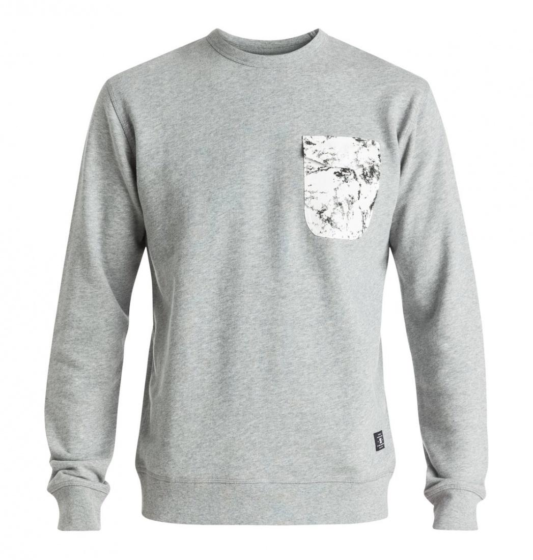 DC SHOES ДЖЕМПЕР DC SYKES M OTLR KNFH GREY HEATHER M рубашка в клетку dc woodale deep dyed heather grey