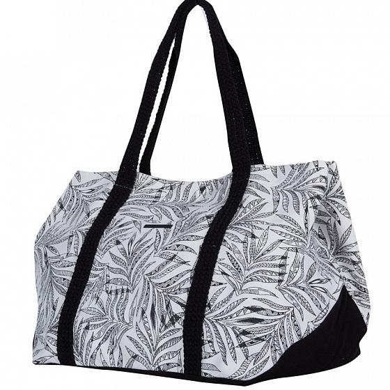 наклейки на сноуборд volcom let it storm stomp black Volcom Сумка Volcom Beach Dayz Tote Black White