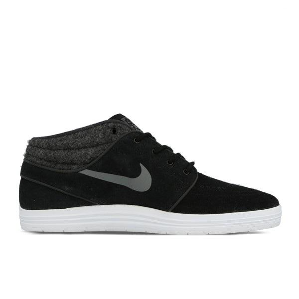 Nike SB Кеды LUNAR STEFAN JANOSKI MID (9, Black/White/Cool Grey, , )