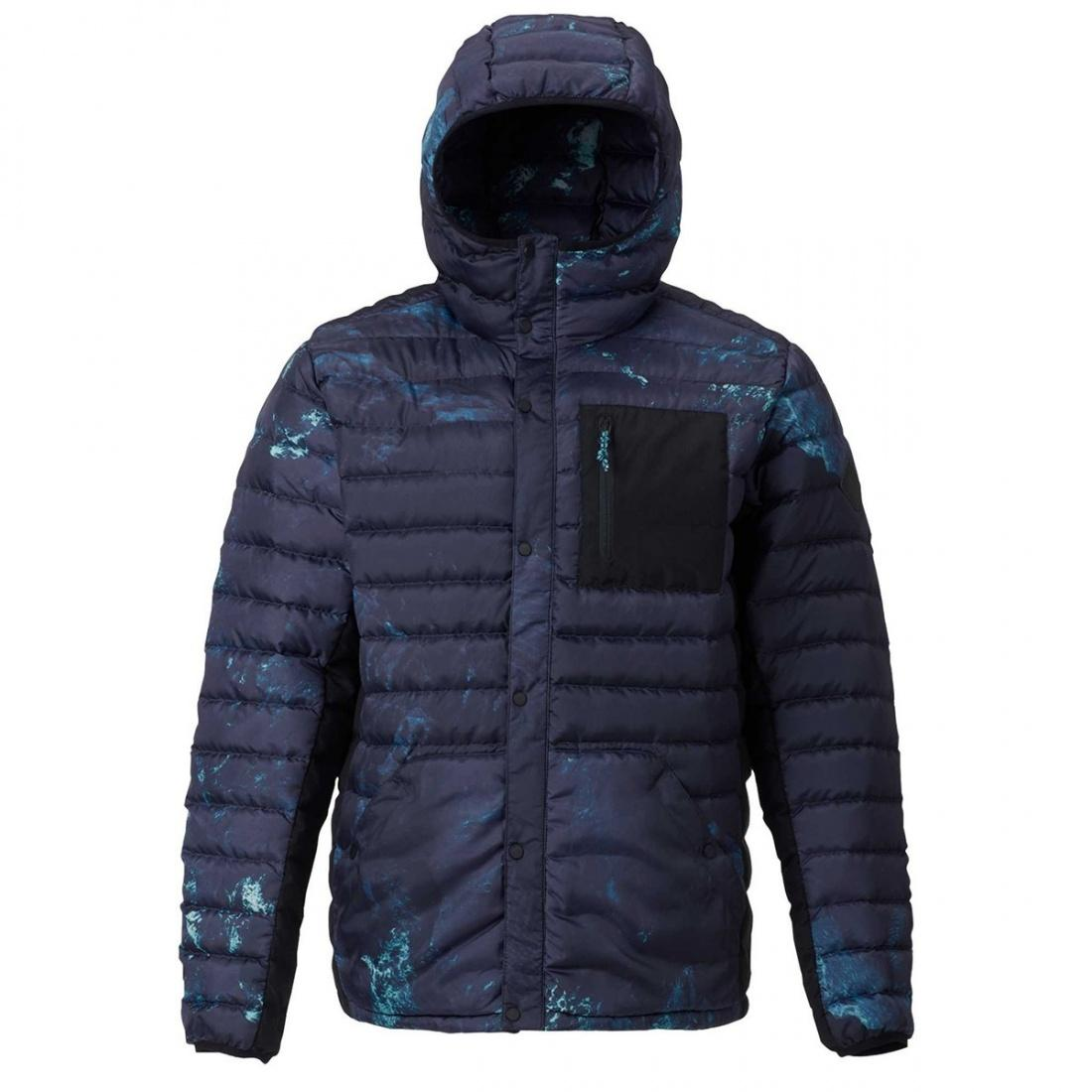 Burton Куртка пуховая Burton Evergreen Hooded Down Insulator NIX OLYMPICA, , , FW18 L burton термоноски burton party sock wings fw18 l
