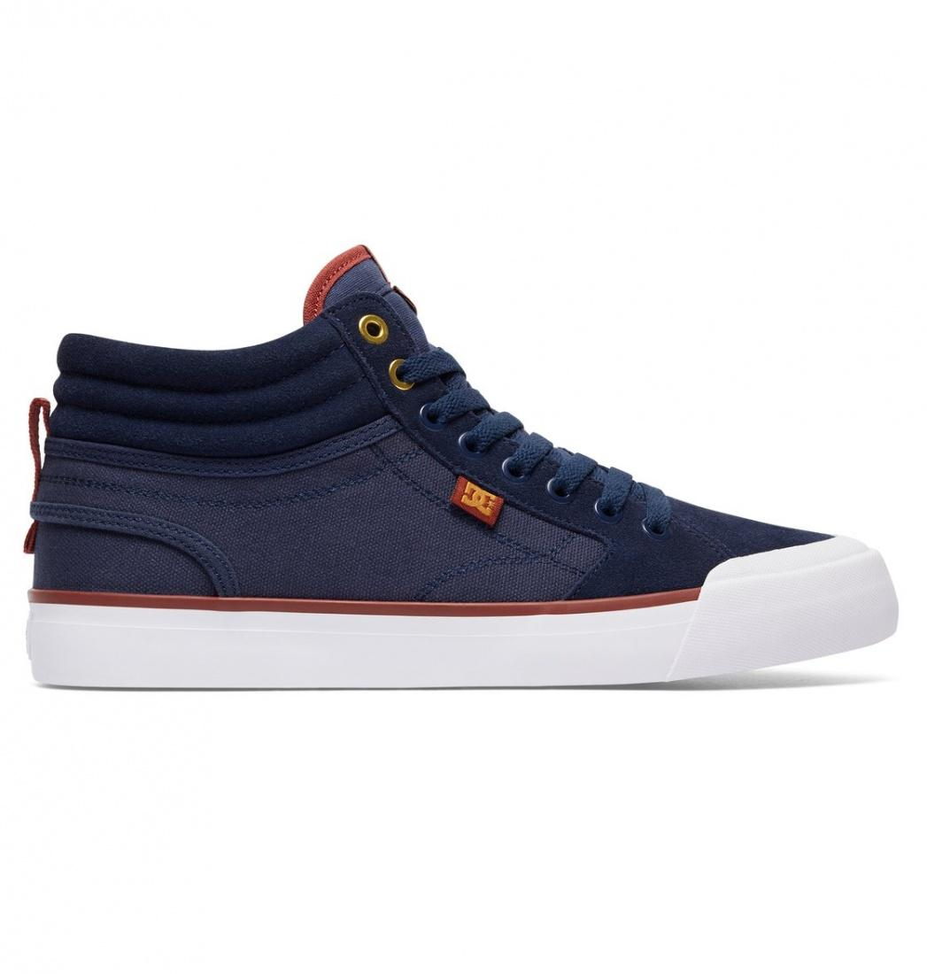 DC SHOES Кеды DC shoes Evan Smith Hi NAVY/GOLD 9 dc shoes зимние кеды dc shoes evan smith wnt wheat fw17 12