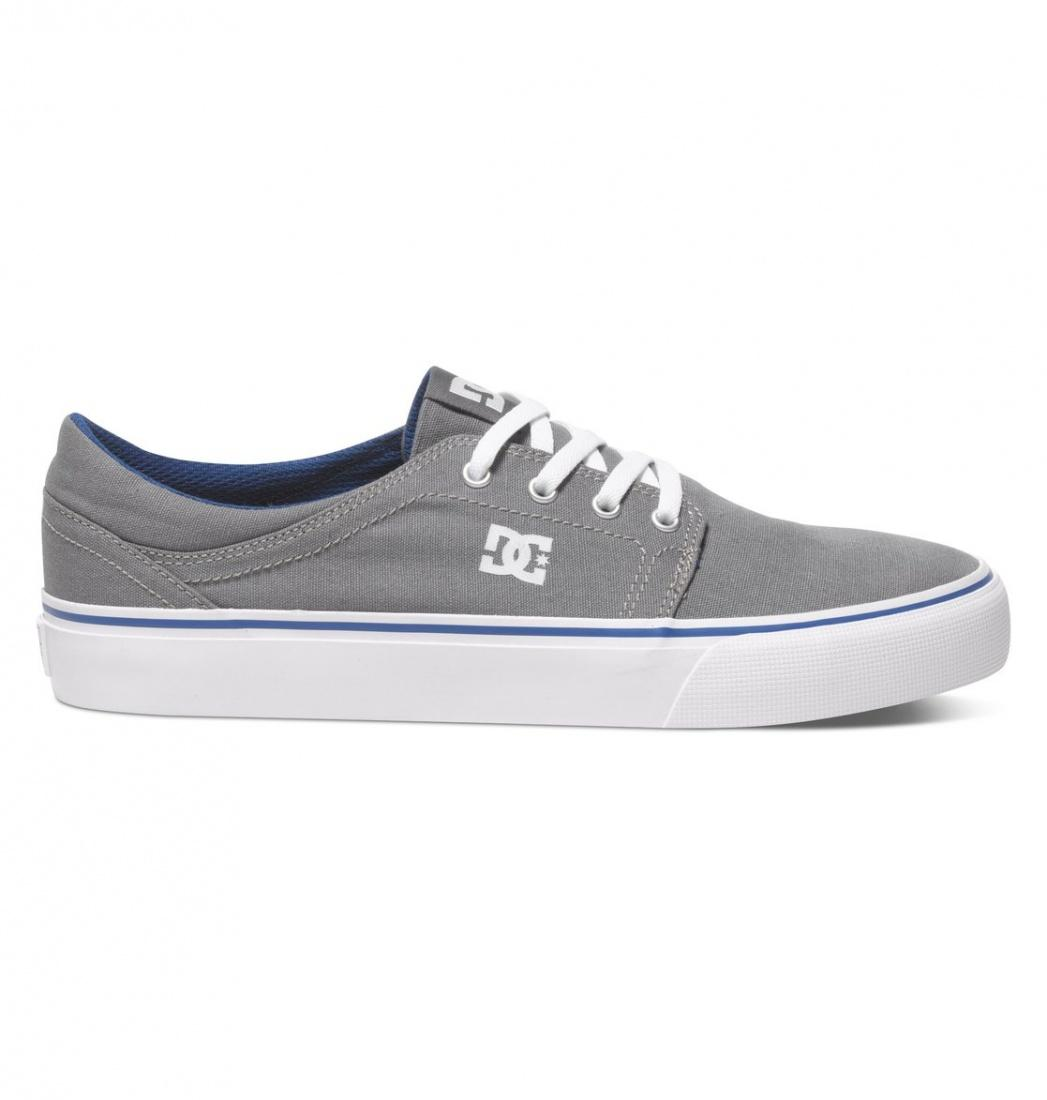 Кеды DC SHOES DC shoes Trase TX Grey Blue 11.5 от Boardshop-1