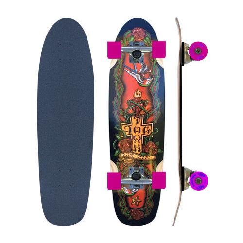 Dogtown&Suicidal Круизер Dogtown&Suicidal Cruiser Mini For Life Complete 7.625x28 шина bridgestone ice cruiser 7000 255 50 r19 107t