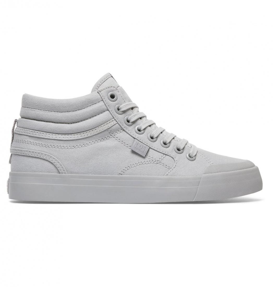DC SHOES Кеды DC shoes Evan HI TX GREY 6.5 dc shoes кеды dc evansmith hi tx m shoe bl0 мужские black 11