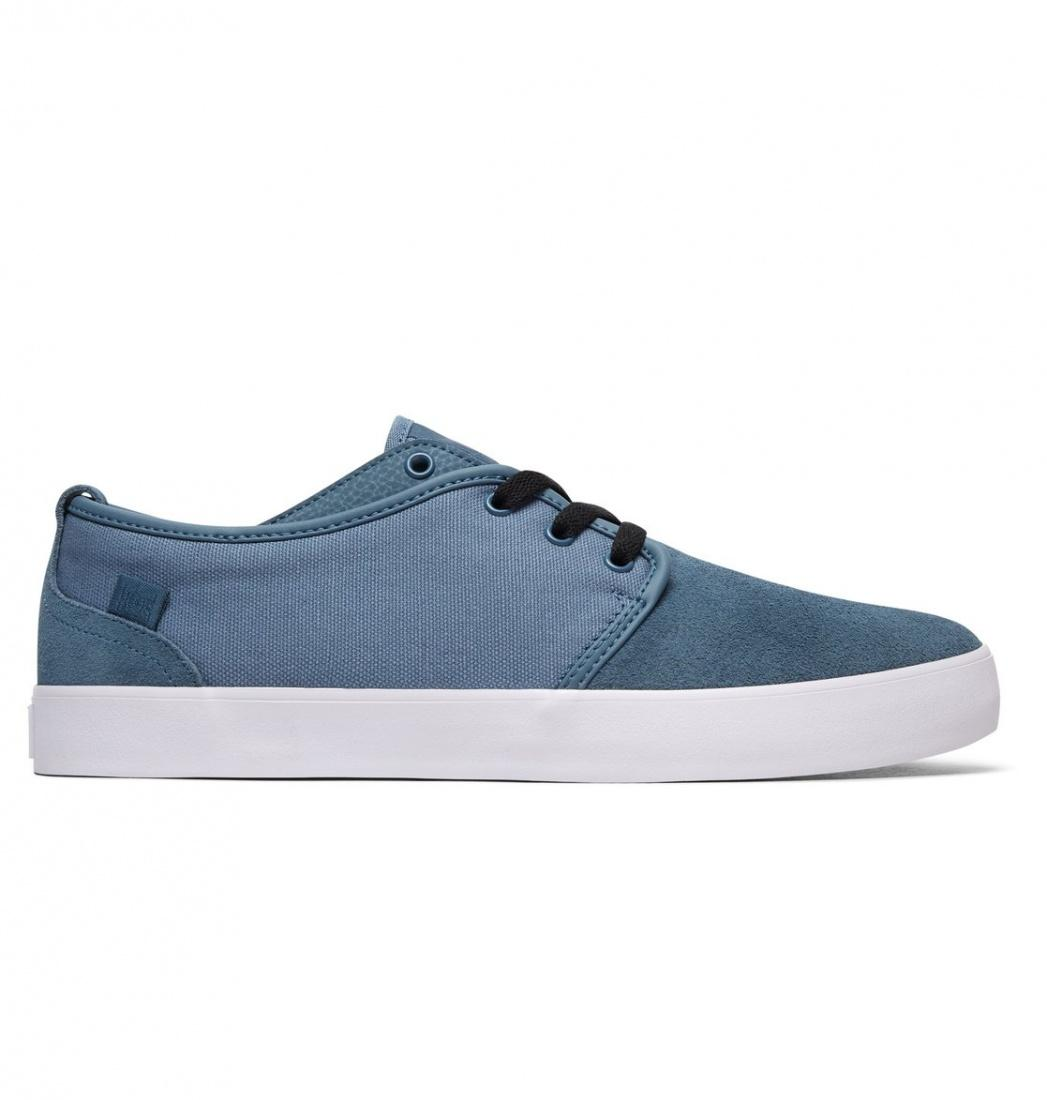 DC SHOES Кеды DC shoes Studio BLUE ASHES US 12 футболка для беременных printio bender трезв