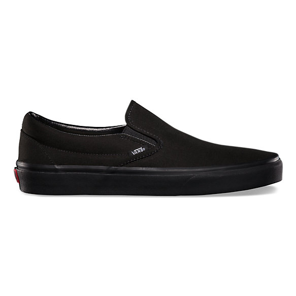Vans Слипоны Vans Classic Slip-On Black/Black 11 слипоны женские levis palmdale slip on regular fuchsia